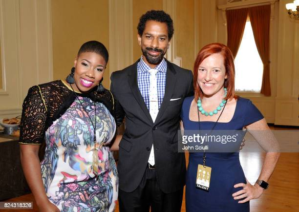 Symone Sanders, Toure, and Jen Psaki at Politicon at Pasadena Convention Center on July 29, 2017 in Pasadena, California.