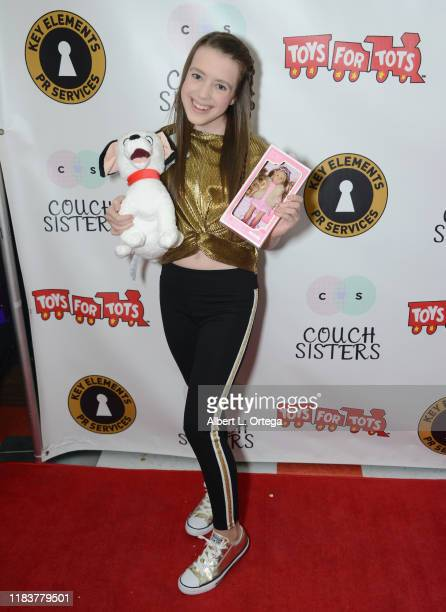 Symonne Harrison attends The Couch Sisters 1st Annual Toys For Tots Toy Drive held onNovember 20 2019 in Glendale California
