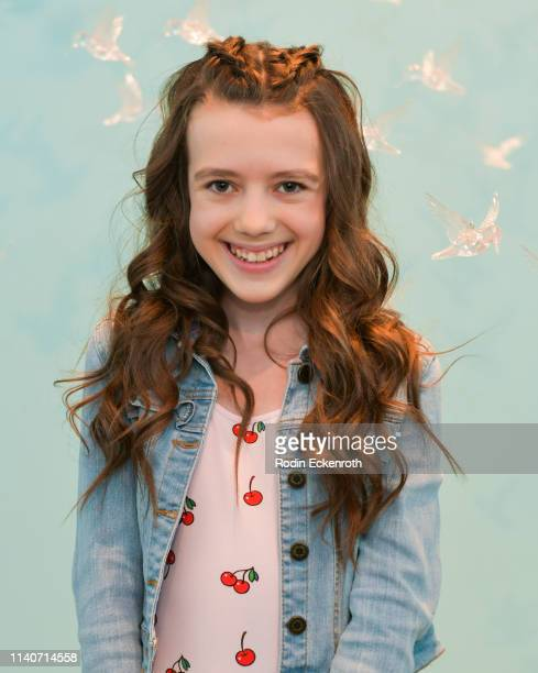 Symonne Harrison poses for portrait at WonderWorld Hollywood and Experience PopUp Opening Night Party on April 05 2019 in Hollywood California