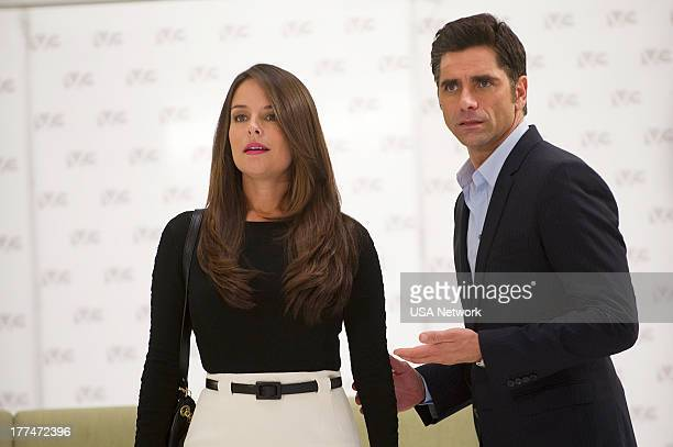 ROUGHNESS 'Sympathy For the Devil' Episode 310 Pictured Yara Martinez as Alex Careles John Stamos as Connor McClane