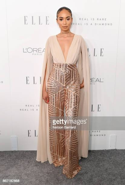 Symphani Soto attends ELLE's 24th Annual Women in Hollywood Celebration presented by L'Oreal Paris Real Is Rare Real Is A Diamond and CALVIN KLEIN at...