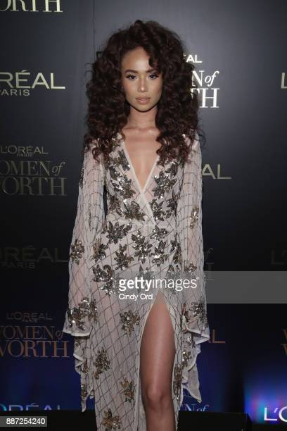 Symphani Soto attends the L'Oreal Paris Women of Worth Celebration 2017 on December 6 2017 in New York City