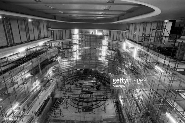 Symphony Hall, The ICC, Birmingham, 6th March 1990. Under Construction.