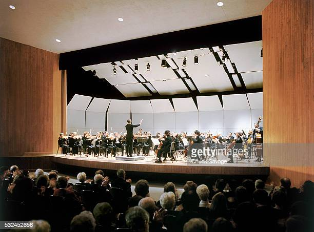 Symphony Performing Onstage
