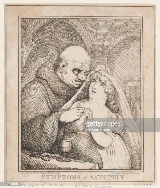 Symptoms of Sanctity February 28 1800 Artist Thomas Rowlandson
