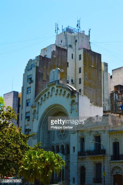 synagogue of the israelite argentine congregation, buenos aires - jewish museum stock pictures, royalty-free photos & images