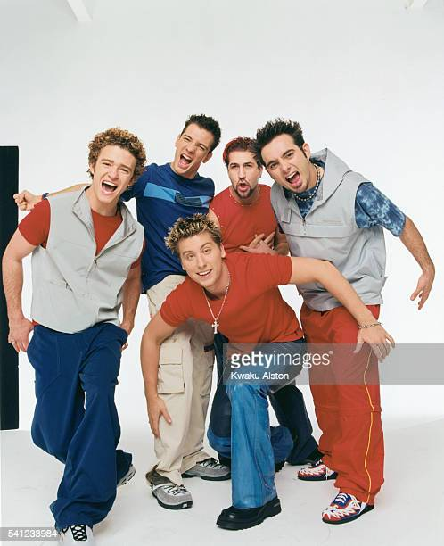'N Sync are photographed for YM Magazine in 2000 in Los Angeles California COVER IMAGE