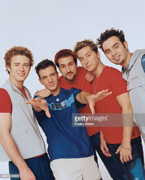 'N Sync are photographed for YM Magazine in 2000 in Los Angeles California Photo by Kwaku Alston/Corbis via Getty Images