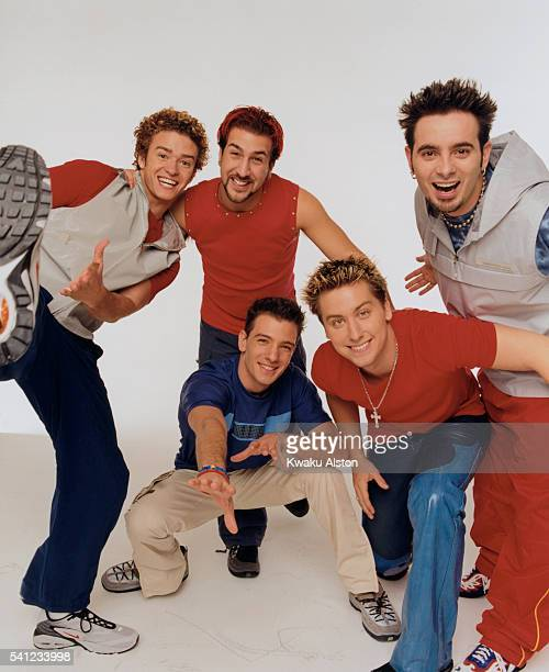 'N Sync are photographed for YM Magazine in 2000 in Los Angeles California