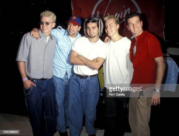 N'Sync Justin Timberlake Joey Fatone Chris Kirkpatrick Lance Bass and JC Chasez