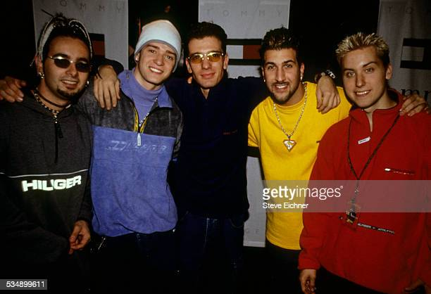 N'Sync portrait at World Aids Day Benefit Beacon Theater New York December 17 1998
