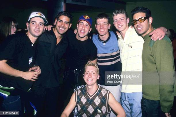 N'Sync with Justin Timberlake with No Mercy's Ariel and Gabriel