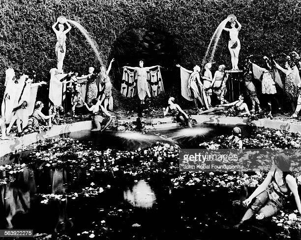 A synchronized dance scene from an unidentified Cecil B DeMille film 1920
