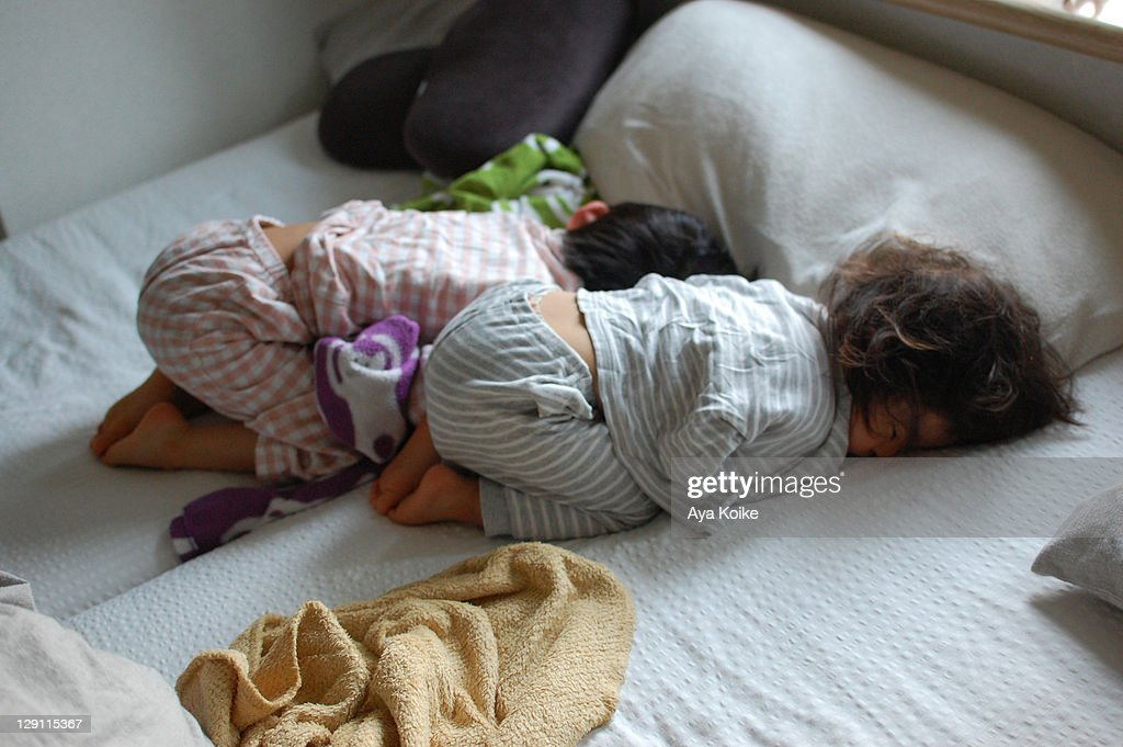 Synchronized Sleeping 2 : Stock Photo