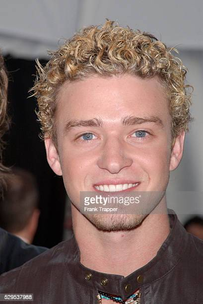 N'Sync's Justin Timberlake at the 29th annual American Music Awards