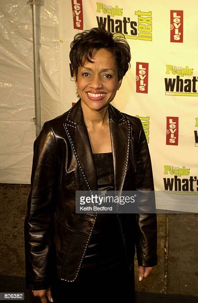Syndicated television Judge Glenda Hatchett attends the Teen People Magazine's What's Next in New Talent Party November 14 2001 in New York City...