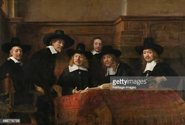 Syndics of the Drapers' Guild 1662 Artist Rembrandt van Rhijn