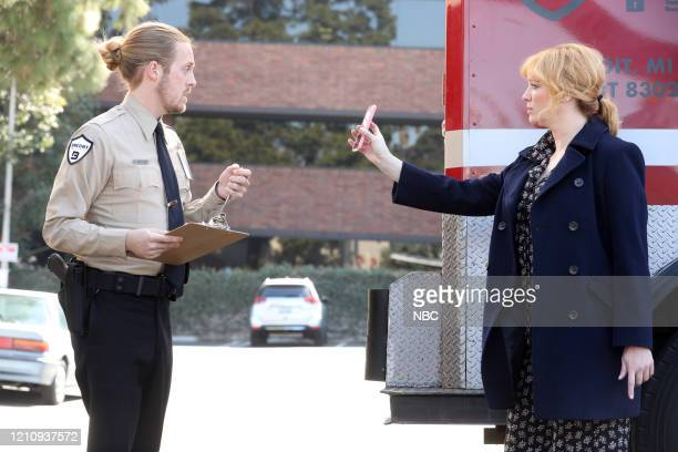 GIRLS Synergy Episode 311 Pictured Kale Clauson as Neal Christina Hendricks as Beth Boland