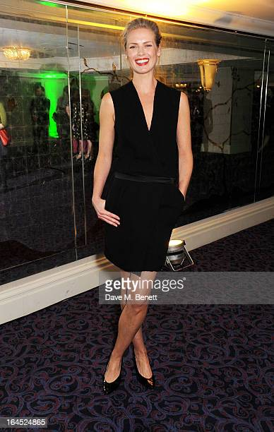 Synnove Macody Lund arrives at the Jameson Empire Awards 2013 at The Grosvenor House Hotel on March 24 2013 in London England