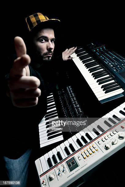 synthesizer man