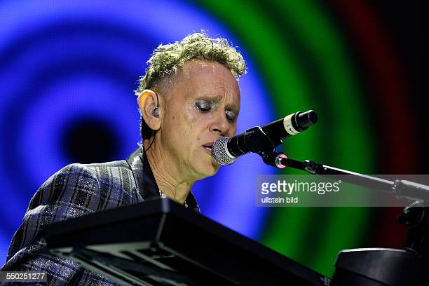 DEPECHE MODE Synthie Pop GB performing on June 09 2013 at Olympiastadion Berlin Germany sold out