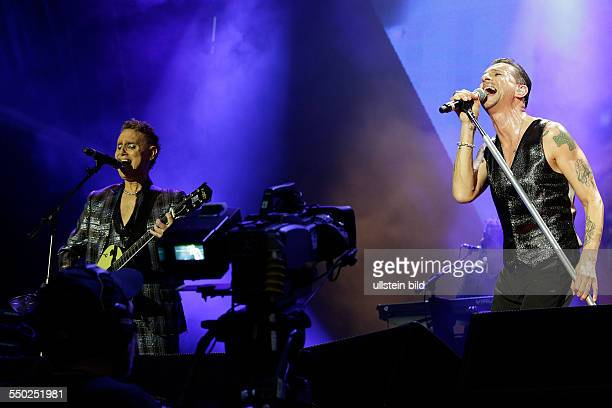 Synthie Pop, GB, performing on June 09, 2013 at Olympiastadion, Berlin, Germany, sold out