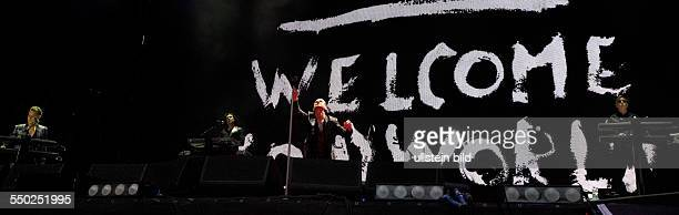 DEPECHE MODE Synthie Pop GB performing on June 09 2013 at Olympiastadion Berlin Germany sold out overview stage