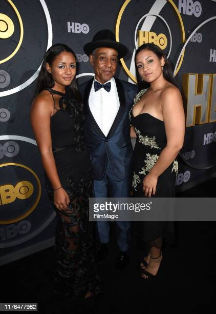 Ruby Esposito Giancarlo Esposito and Syrlucia Esposito attend HBO's Official 2019 Emmy After Party on September 22 2019 in Los Angeles California