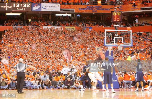 Syracuse Fans Set An Ncaa On Campus Attendance Record During