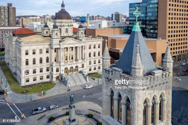syracuse -  new york - cityscape - syracuse new york stock pictures, royalty-free photos & images
