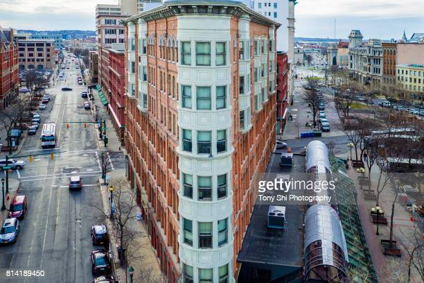syracuse -  new york - downtown - syracuse new york stock pictures, royalty-free photos & images