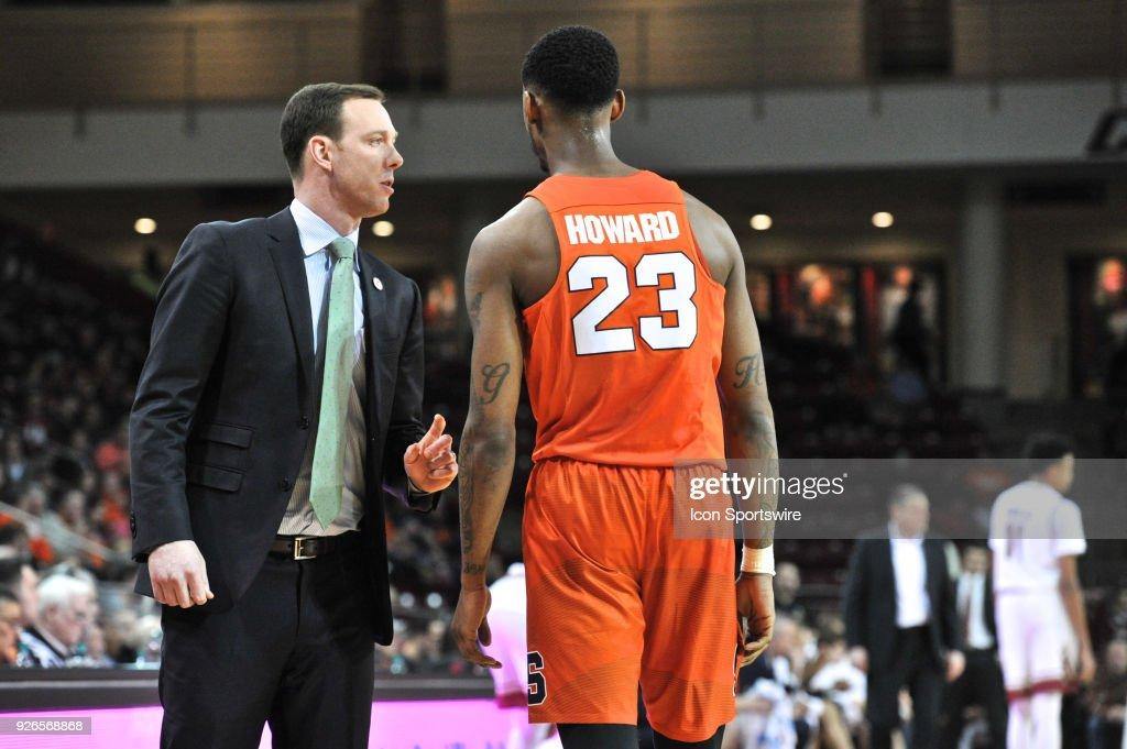 Syracuse Orange Assistant Coach Gerry Mcnamara Talks With