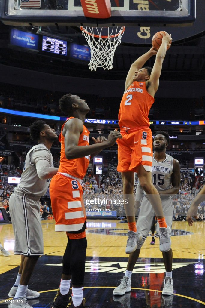 College Basketball Dec 16 Syracuse At Georgetown Pictures Getty