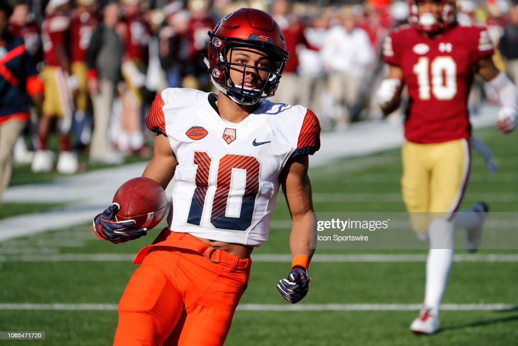 COLLEGE FOOTBALL: NOV 24 Syracuse at Boston College : News Photo