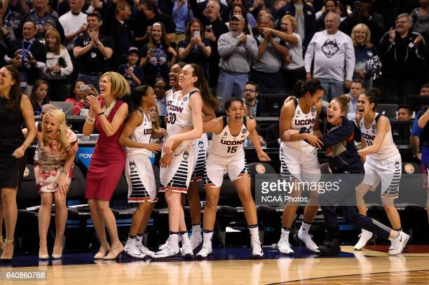 Syracuse University takes on University of Connecticut for the Division I Women's National Championship during the 2016 Women's Final Four held at...