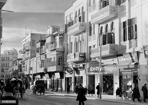 Syria Aleppo Aleppo streetscape Photographer Bernd Lohse Published by 'Berliner Illustrirte Zeitung' 21/1939Vintage property of ullstein bild