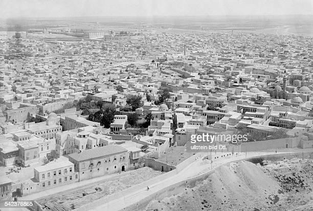 Syria Aleppo Aleppo View of the city undated Vintage property of ullstein bild