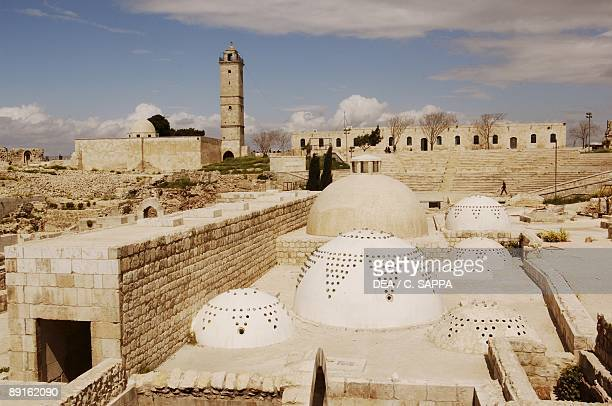 Syria Aleppo Historical Aleppo UNESCO World Heritage List 1986 Citadel 13th century Royal Palace Baths