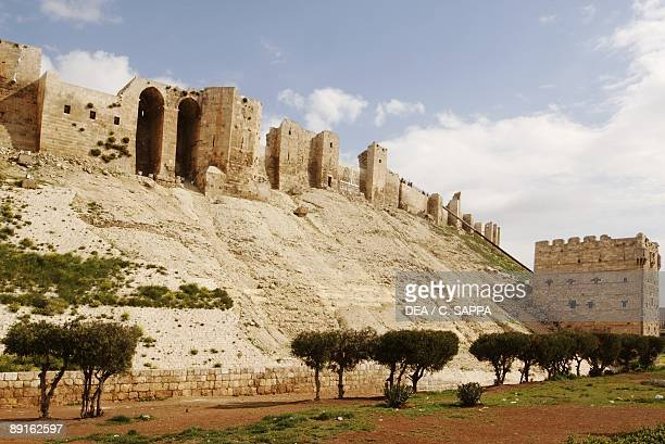 Syria Aleppo Historical Aleppo UNESCO World Heritage List 1986 Citadel 13th century