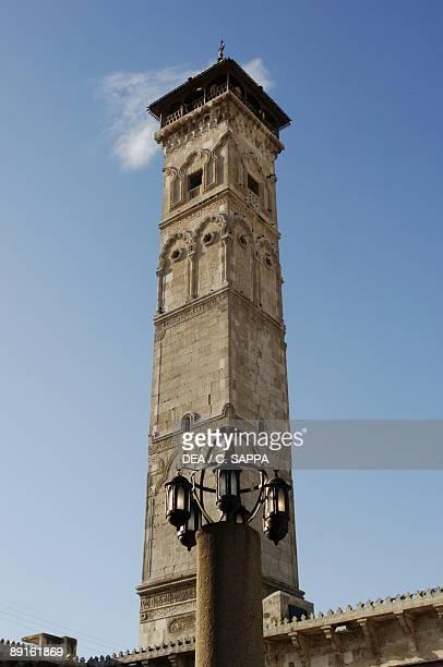 Syria Aleppo Historical Aleppo UNESCO World Heritage List 1986 Umayyad Great Mosque 11th century Minaret