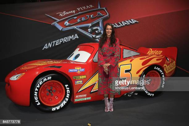 Syria attends Cars 3 photocall in Milan on September 11 2017 in Milan Italy
