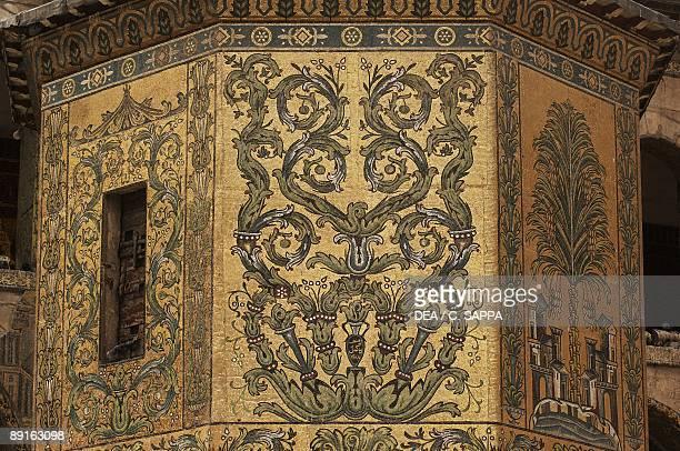 Syria Damascus Ancient city UNESCO World Heritage List 1979 Umayyad Great Mosque AD 705715 Treasure Dome Exterior dcor