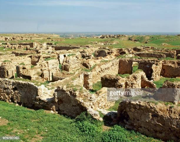Syria DuraEuropos Hellenistic Parthian and Roman city Today Salhiye Temple of Atargatis Photo taken before civil war