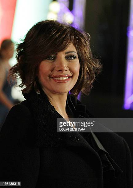 Syrian actress Sulafa Memar arrives at the opening ceremony of the Damascus International Film Festival in the Syrian capital on November 7 2010 AFP...