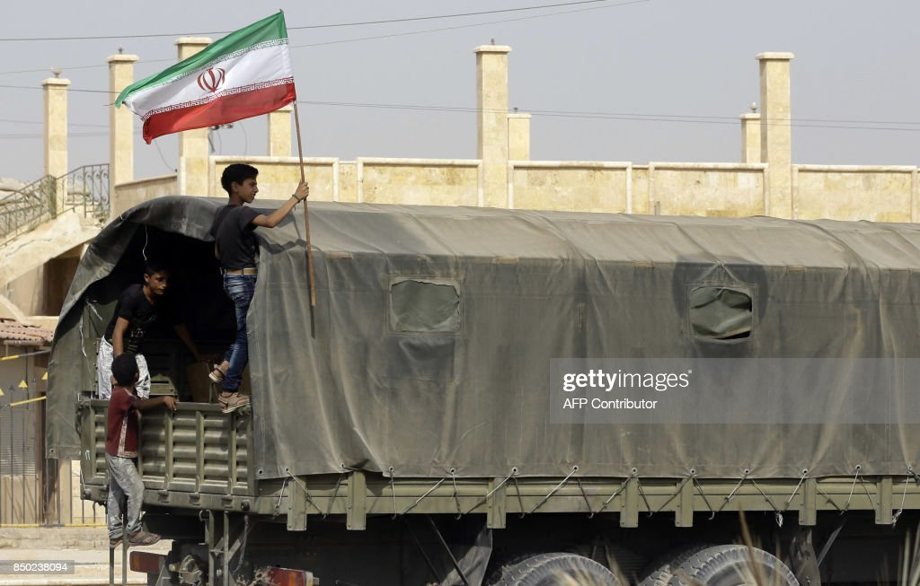 SYRIA-CONFLICT-DEIR EZZOR-IRAN-AID : News Photo