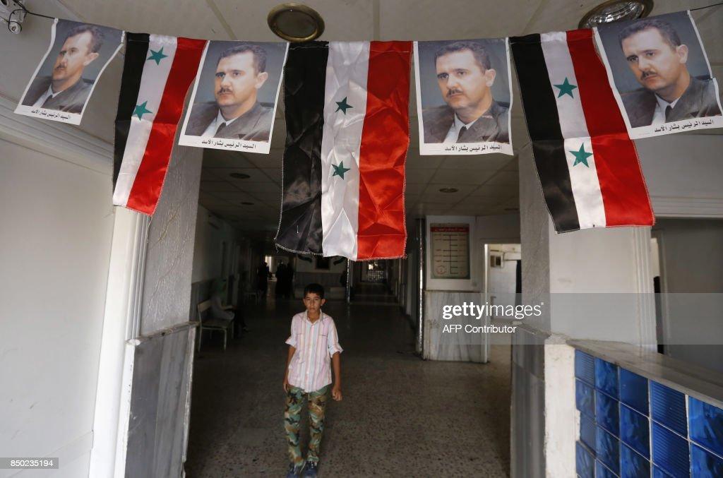 SYRIA-CONFLICT-DEIR EZZOR-DAILY LIFE : News Photo