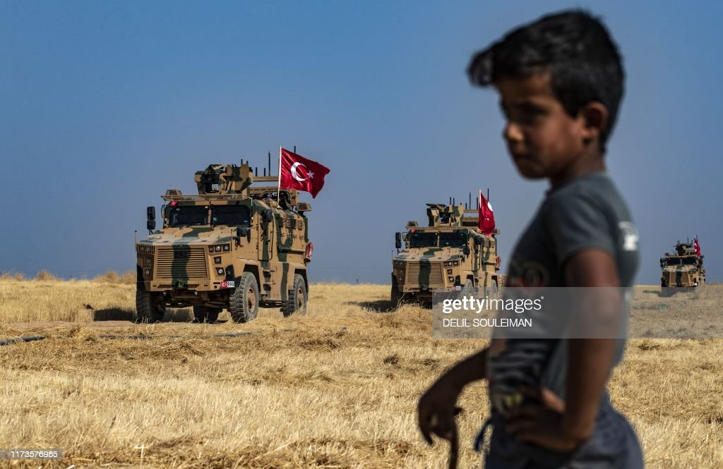 TOPSHOT-SYRIA-TURKEY-US-CONFLICT : News Photo