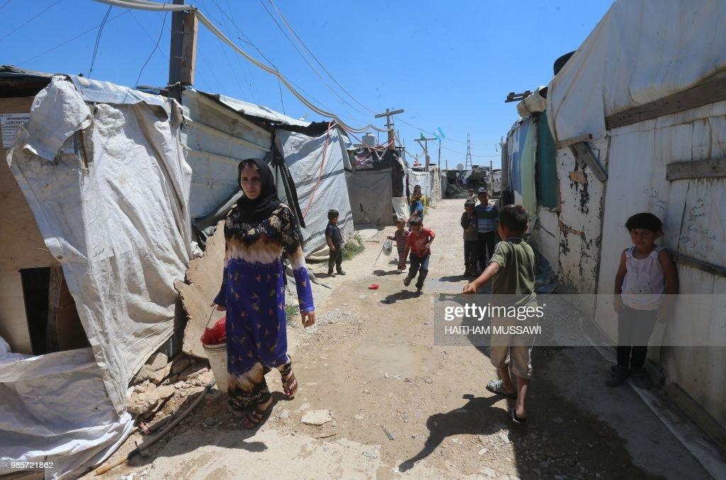 LEBANON-SYRIA-CONFLICT-CONSCRIPTION : News Photo