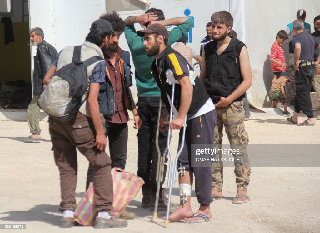 SYRIA-CONFLICT-DAMASCUS : ニュース写真