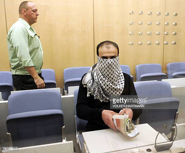 Syrian defendant Ibrahim Mohamed Khalil waits for the start of his trial 05 December 2007 at court in Dusseldorf. The judges in the western city of...